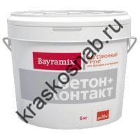 Bayramix Бетон+Контакт адгезивный грунт для внутренних и наружных работ