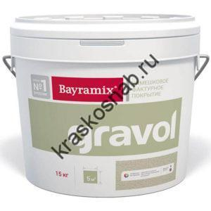 Bayramix Gravol декоративная камешковая штукатурка для ручного и машинного нанесения с ярко выраженной «шубой» (фракция 1,5 мм)