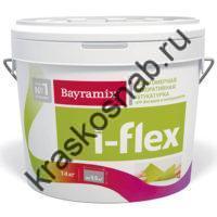Bayramix i-Flex эластомерная акриловая  декоративная штукатурка для фасадов и интерьеров