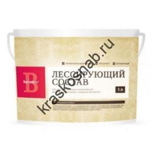Bayramix Лессирующий состав перламутровый для придания декоративного эффекта гладким и фактурным покрытиям
