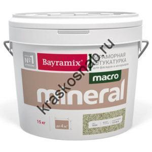 Bayramix Macro Mineral мраморная штукатурка из натурального камня с ярко выраженной фактурой