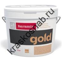 Bayramix Mineral Gold мраморная штукатурка с перламутровой мраморной крошкой