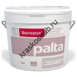 Bayramix Palta декоративная камешковая штукатурка с ярко выраженной фактурой для фасадных и интерьерных работ (крупная фракция)