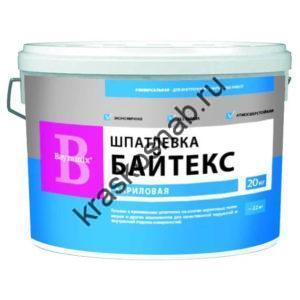 Bayramix Шпатлевка Байтекс универсальная шпатлёвка для фасадных и интерьерных работ