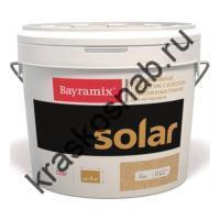 Bayramix Solar декоративное покрытие с использованием стеклянных гранул, окрашенных светостойким пигментом с эффектом перламутра