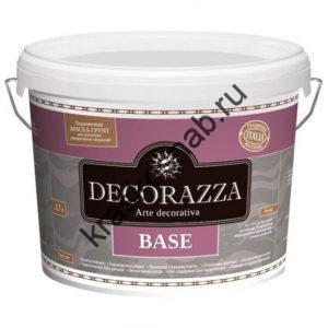 DECORAZZA BASE подложечная грунт-краска для нанесения под декоративные покрытия