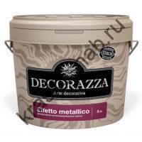 DECORAZZA EFFETTO METALLICO декоративное металлизированная краска