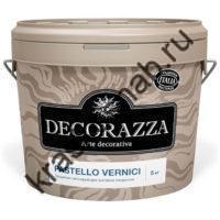 DECORAZZA PASTELLO VERNICI декоративное защитное лессирующее матовое покрытие