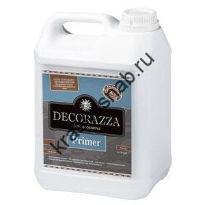 DECORAZZA PRIMER грунт глубокого проникновения для укрепления поверхности и улучшения адгезии