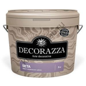 DECORAZZA SETA декоративное покрытие с эффектом натурального шёлка