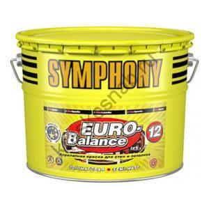 SYMPHONY EURO-BALANCE 12 акрилатная полуматовая краска для стен и потолков