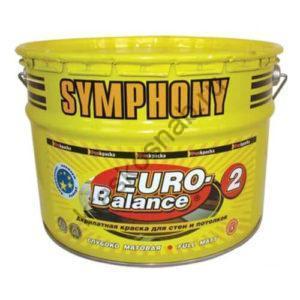 SYMPHONY EURO-BALANCE 2 акрилатная краска для стен и потолков