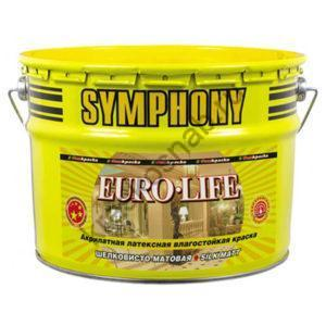 SYMPHONY EURO-LIFE акрилатная латексная влагостойкая краска