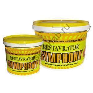 SYMPHONY RESTAVRATOR акриловый защитно-декоративный лак-антисептик