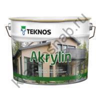 TEKNOS AKRYLIN водоразбавляемая акрилатная краска для домов