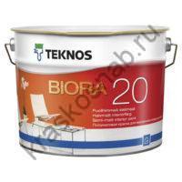 TEKNOS BIORA 20 REMONTTIMAALI полуматовая краска для внутренних работ