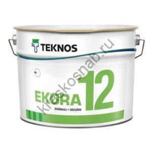 TEKNOS EKORA 12 краска для внутренних поверхностей