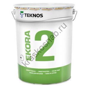 TEKNOS EKORA 2 краска для потолков