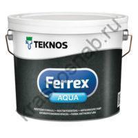 TEKNOS FERREX AQUA водоразбавляемая антикоррозионная грунтовочная краска