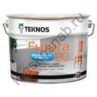 TEKNOS FUTURA AQUA 20 водоразбавляемая полуматовая универсальная краска