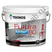 TEKNOS FUTURA AQUA 80 водоразбавляемая глянцевая универсальная краска