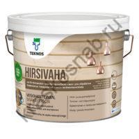 TEKNOS HIRSIVAHA воск для обработки бревенчатых поверхностей