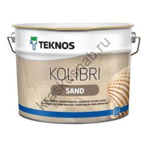 TEKNOS KOLIBRI SAND декоративное текстурное покрытие