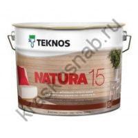 TEKNOS NATURA 15 полуматовый лак для внутренних поверхностей