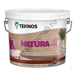 TEKNOS NATURA 40 полуглянцевый лак для внутренних поверхностей
