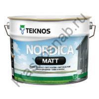 TEKNOS NORDICA MATT водоразбавляемая матовая краска для домов