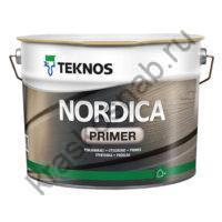 TEKNOS NORDICA PRIMER водоразбавляемая алкидная грунтовочная краска