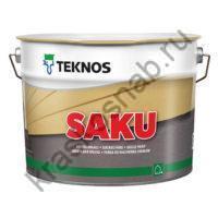 TEKNOS SAKU водоотталкивающая цокольная краска для бетонных поверхностей
