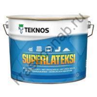 TEKNOS SUPERLATEKSI матовая термостойкая специальная акриловая краска