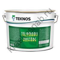 TEKNOS TALOMAALI полуматовая акрилатная краска для наружных деревянных поверхностей