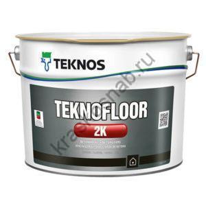 TEKNOS TEKNOFLOOR 2K двухкомпонентная краска для бетона