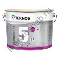 TEKNOS TEKNOSPRO 5 водоразбавляемая совершенно матовая краска для стен и потолка
