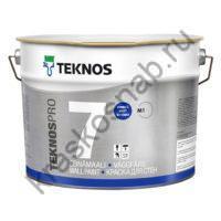 TEKNOS TEKNOSPRO 7 водоразбавляемая матовая краска для стен и потолка