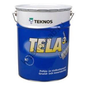 TEKNOS TELA 3 краска для грунтовки и потолков