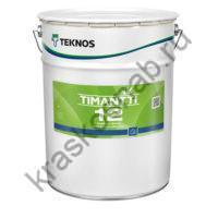 TEKNOS TIMANTTI 12 водоразбавляемая акрилатная краска для стен и потолков