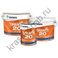 TEKNOS TIMANTTI 20 полуматовая влагостойкая акрилатная краска