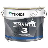 TEKNOS TIMANTTI 3 износостойкая акрилатная краска