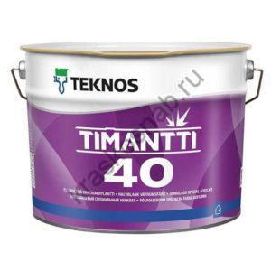 TEKNOS TIMANTTI 40 полуглянцевая влагостойкая акрилатная краска