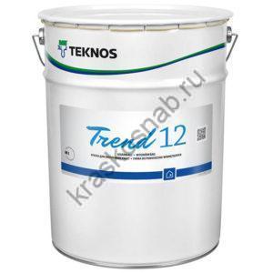 TEKNOS TREND 12 водоразбавляемая матовая краска для стен и потолка