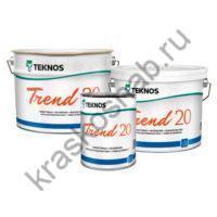 TEKNOS TREND 20 акрилатная краска для стен и потолков