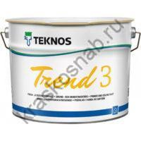 TEKNOS TREND 3 матовая акрилатная краска