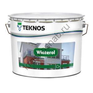 TEKNOS WINTEROL краска для каменных фасадов