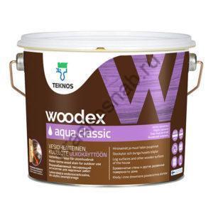 TEKNOS WOODEX AQUA CLASSIC лессирующий антисептик пропитка