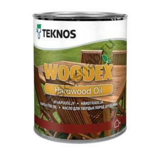 TEKNOS WOODEX HARDWOOD OIL масло для твердых пород древесины